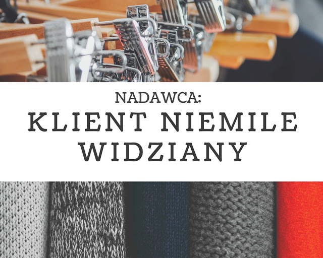 Read more about the article List do branży odzieżowej